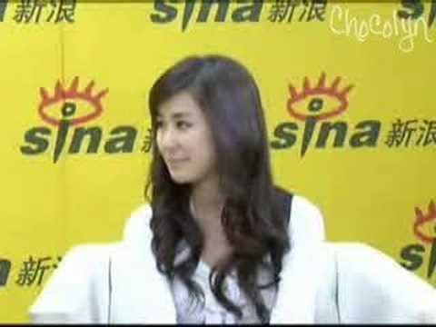 [ENGSUB] 2008.05.07 Sina Exclusive - Zhang Li Yin (Part 1)