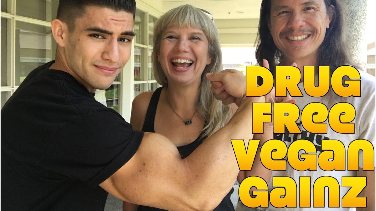 Straight Vedge: Drug Free Vegan Gainz