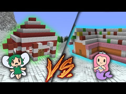 CANDY CANE HOUSE VS GINGERBREAD HOUSE!