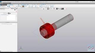 Компас 3D V18 - Резьба внутренняя метрическая