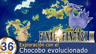 Guía Final Fantasy IX  #36  Exploración tras evolucionar a Choco
