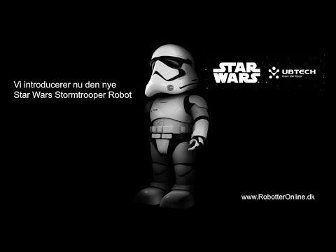 Køb Star Wars Stormtrooper Robot af UBTECH til Salg Billigt