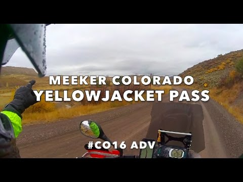 Motorcycle Adventure - Yellowjacket Pass - #CO16 ADV