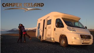 Camper Iceland in the Winter