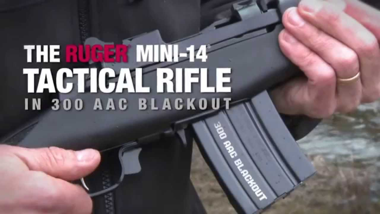 The Ruger Mini-14® Tactical Rifle in 300 AAC Blackout