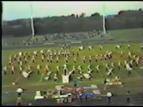 Salem Community High School Marching Band - Champaign, Illinois 1985 (part 1 of 2)