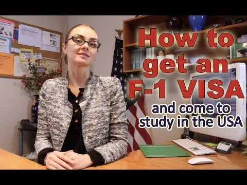 How to get an F-1 visa and come to study in the US