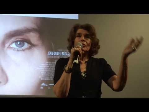Rencontre, avec Fanny Ardant, lors de la projection du film Le Divan de Staline