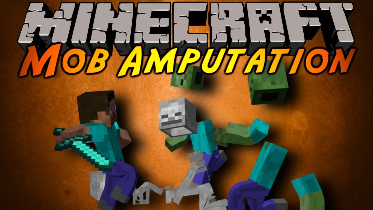 minecraft mod showcase mob amputation youtube. Black Bedroom Furniture Sets. Home Design Ideas