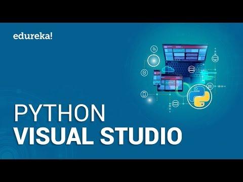 Visual Studio Code For Python Development | How To Setup Python In Visual Studio Code | Edureka