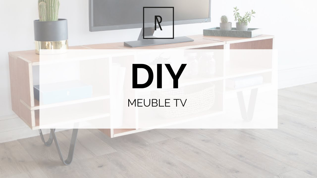 Ripaton Pieds De Table diy meuble tv - ripaton