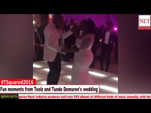 Fun moments from Toolz and Tunde Demuren's wedding in Dubai