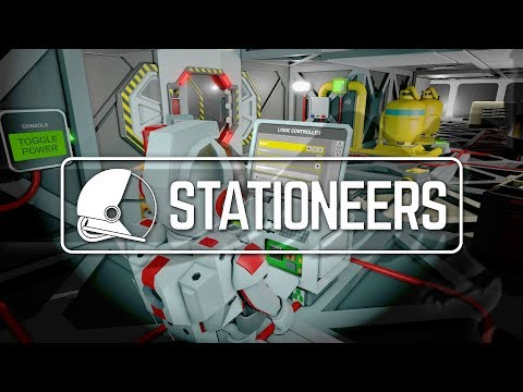 STATIONEERS | SPACE SURVIVAL BY DEAN HALL DAYZ - Let's Play Gameplay