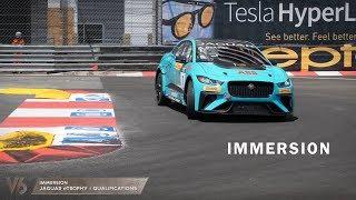 Anthony Beltoise participe au Jaguar eTrophy à Monaco -  V6