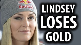 Olympic Skier Lindsey Vonn Loses Gold After Bashing Trump