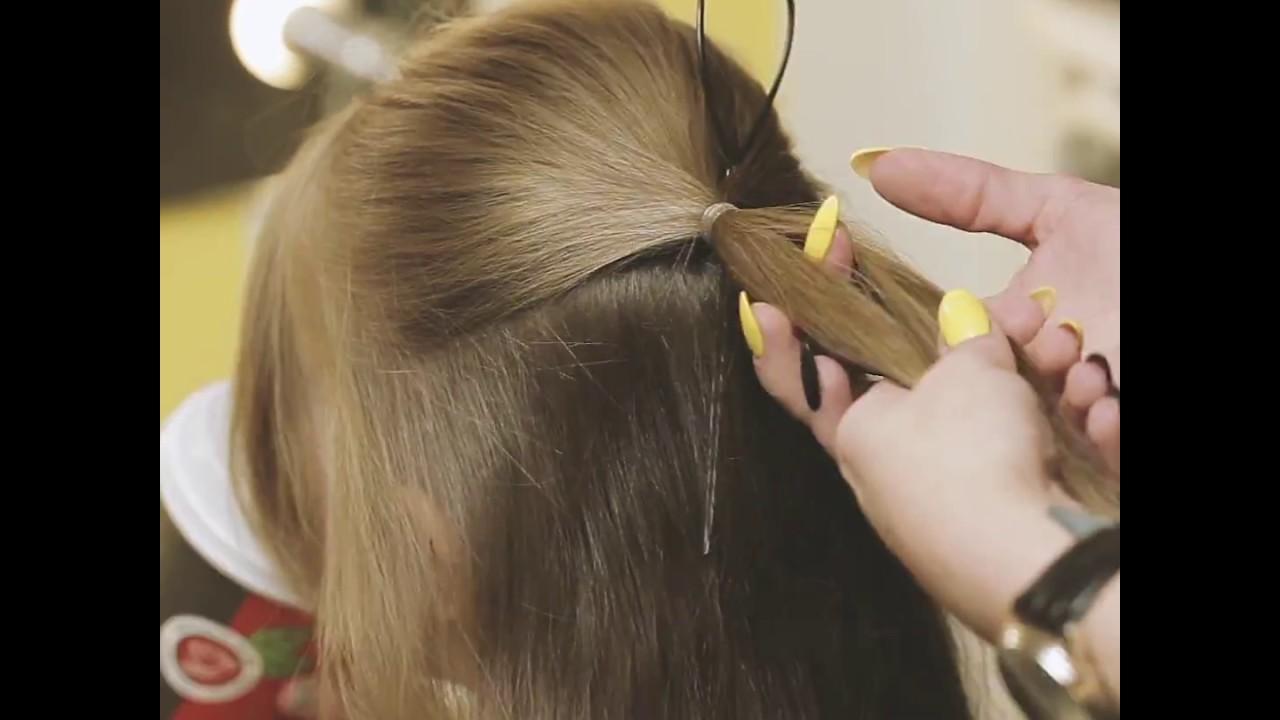 Fryzura Dla Dziewczynki Jak Zrobić Kokardę Z Włosów Hair Bow Hairstyle Tutorial Lilylifepl