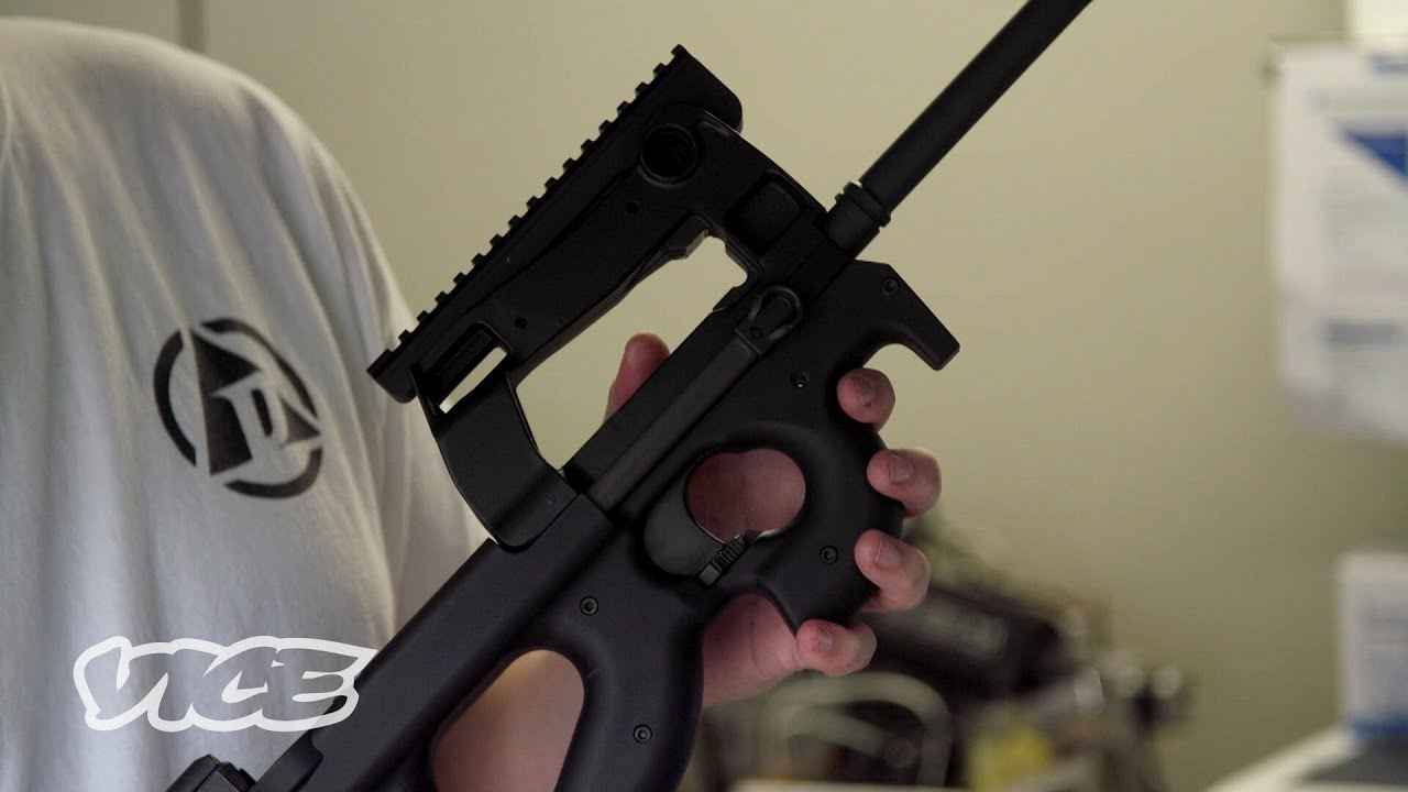 The World's First Implant-Activated Smart Gun