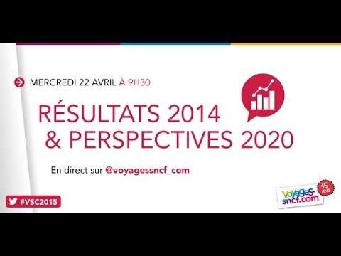 Conférence de presse Voyages-sncf.com : résultats 2014 et perspectives 2020 | #VSC2015