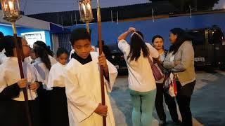 Festa na igreja católica