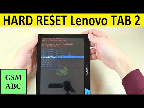 Thumbnail: HARD RESET Lenovo TAB 2 A10-30 | How to | Tips and Tricks