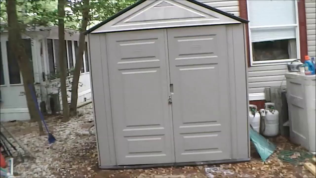 Rubbermade Max Jr Shed Review