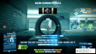 TOP 5 Jugadas Battlefield 3 - Edición test