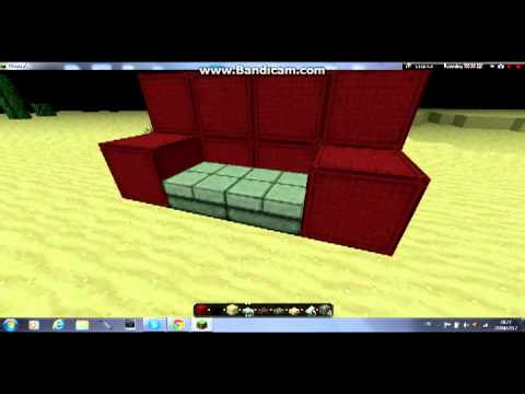 How To Make A Couch In Minecraft Youtube