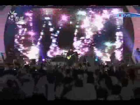 2009高雄世運閉幕式嘉年華 伍佰演唱 衝衝衝