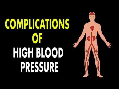 High Blood Pressure | Complications of High Blood Pressure | How to Control The BP |