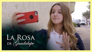 La Rosa de Guadalupe: Sofía y Nadine compiten para ver quién es más popular   Clik Clok, en peligro