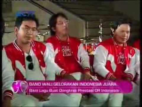 Pembuatan videoklip Indonesia Juara Wali Band