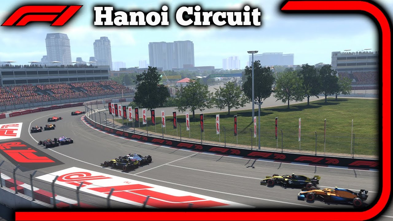 First Look At F1 2020 Hanoi Street Circuit