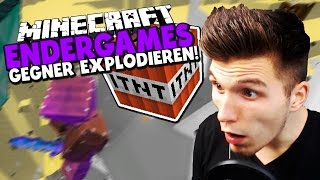 GEGNER WEGSPRENGEN! & NERVIGE TEAMS IN EG! ✪ Minecraft ENDERGAMES - BOMBER KIT!