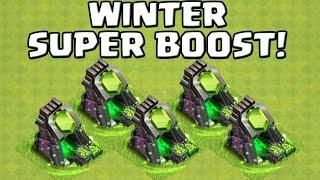 WINTER SUPER BOOST! || CLASH OF CLANS || Let's Play CoC [Deutsch/German HD+]