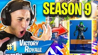 SUPER REAL VITTORY in FORTNITE's NEW SEASON 9 - Fortnite ITA