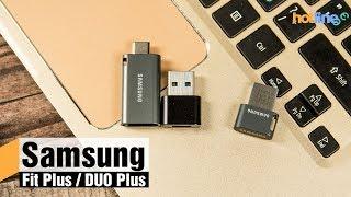 Samsung Fit Plus и DUO Plus — обзор флеш-накопителей