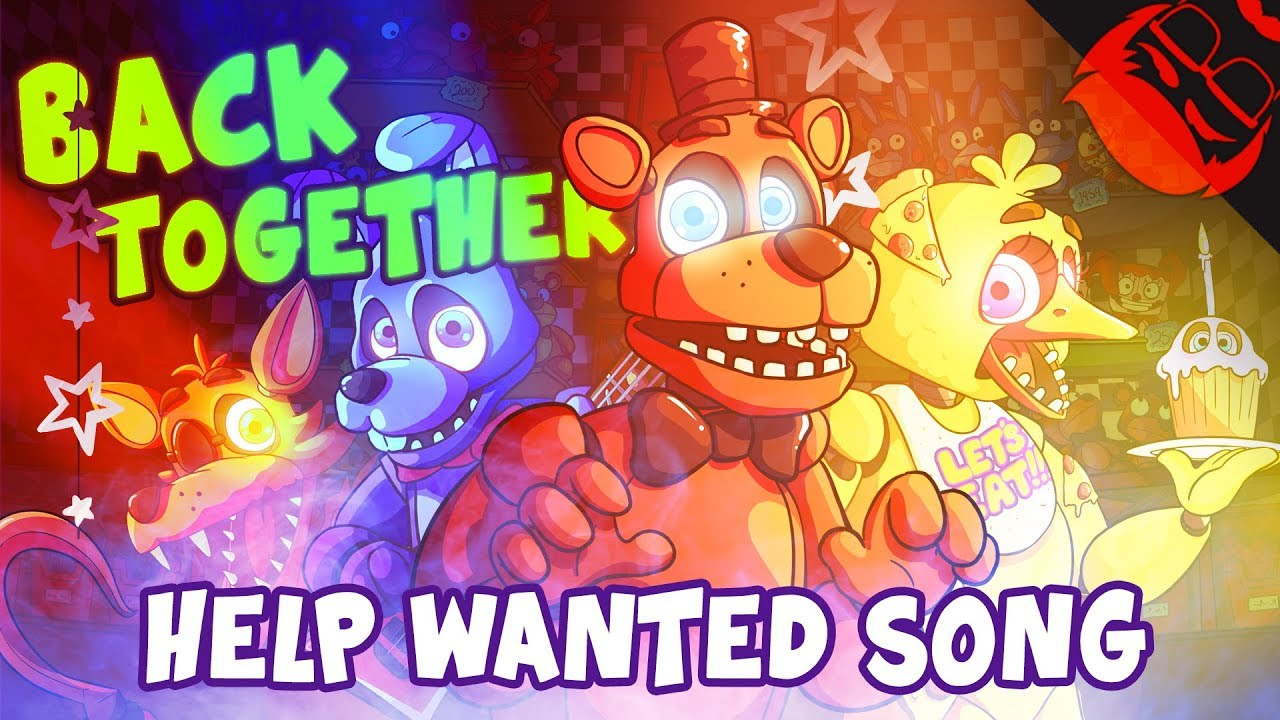 BACK TOGETHER | Animated Five Nights At Freddy's: Help Wanted Song!