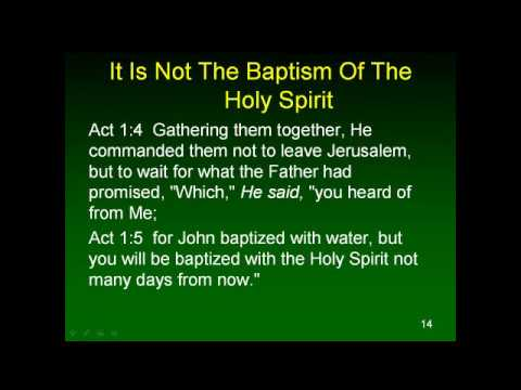 The Nature and Work of The Holy Spirit 7 The Gift of The Holy Spirit 1