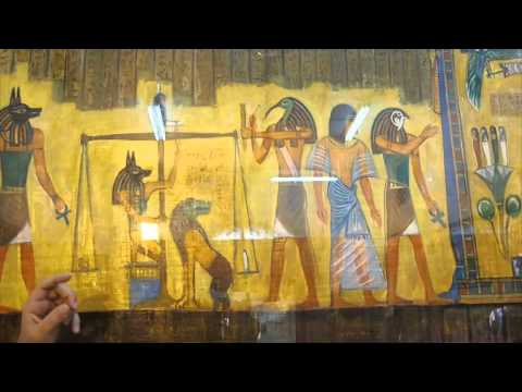 How To Make Paper From The Papyrus Plant. (History Video)