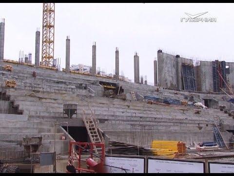 Дворец спорта в Самаре готов практически на четверть