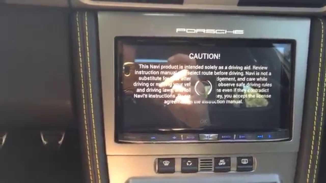 pioneer avic 8000nex porsche 997 gt2 pcm radio navi upgrade with rh youtube com