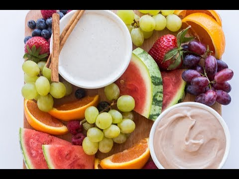 How To Make Cream Cheese Fruit Dip | The Recipe Rebel