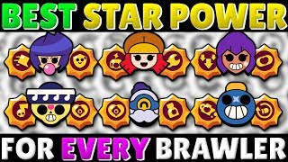 30K PRO Reveals the BEST Star Power for EACH Brawler! | Buy THESE Star Powers! | Feat. Ash