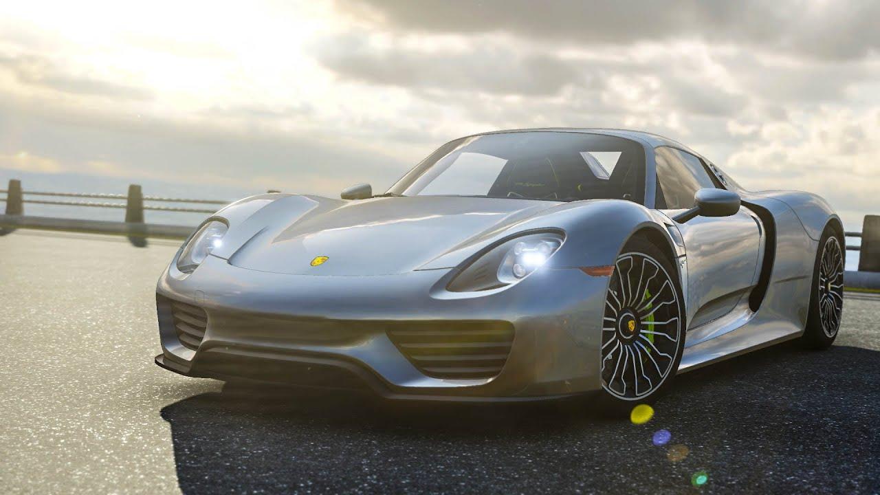 Forza Motorsport 6 Porsche 918 Spyder Autovista Top Gear Test Track