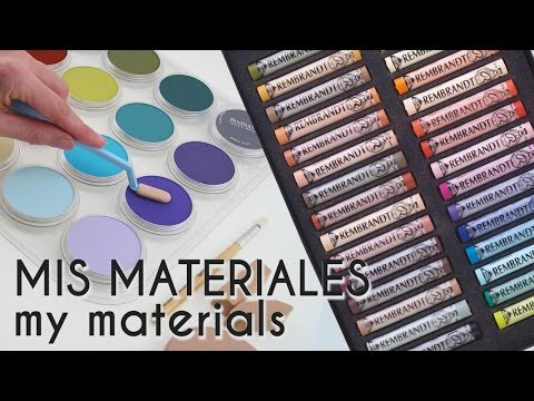 MIS MATERIALES | MY MATERIALS | English Subs. | Diana Díaz 2016
