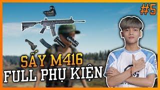 BEST SNIPER SẤY M416 FULL PHỤ KIỆN SẼ NTN? | MỘT SỐ MẸO CƠ BẢN PUBG | SGD SAPAU HIGHLIGHT #5