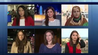صحفيات الجزيرة يتحدثن عن تجاربهن في التغطيات الميدانية