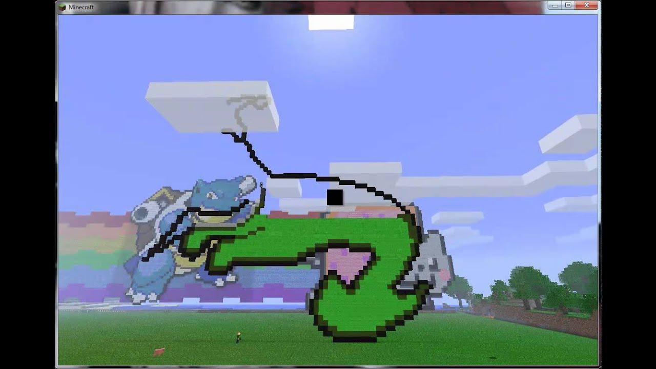 Minecraft 3d Unicorn Art Related Keywords Suggestions Minecraft