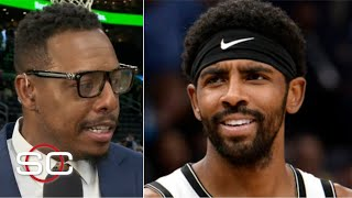 Paul Pierce reacts to reports about Kyrie Irving's mood swings   SportsCenter with Stephen A.