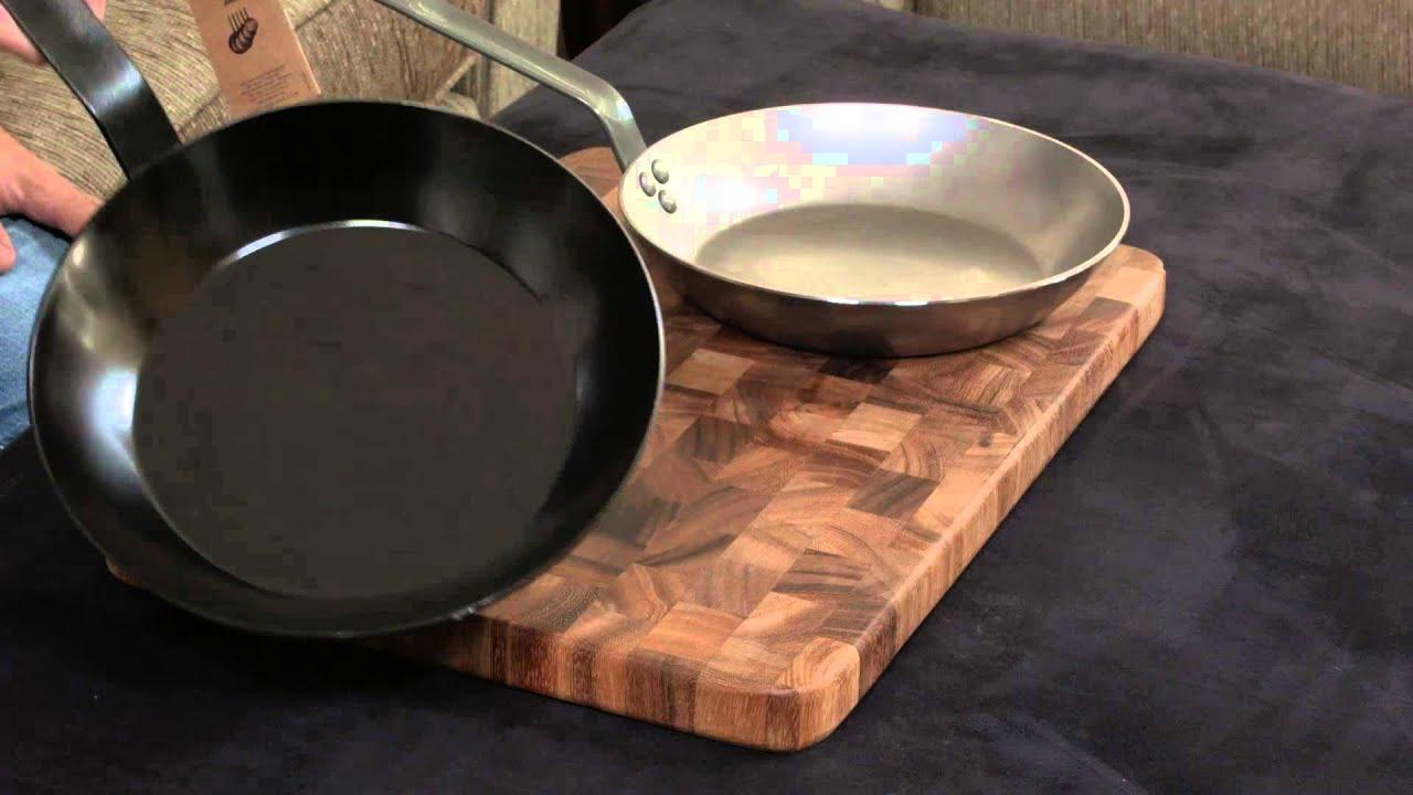 carbon steel skillets seasoning